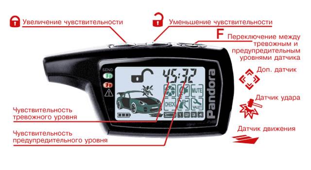 сигнализация с автозапуском пандора инструкция по эксплуатации - фото 11