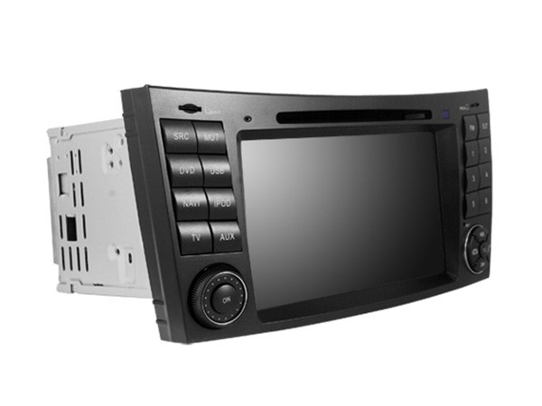 Car multimedia android 51 dvd gps player mercedes benz e/cls -class w211 w209 w219 quad core radio rds bt mirror